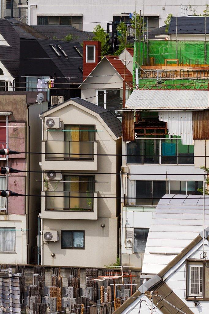 layered façades