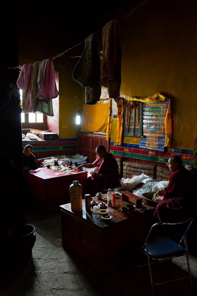 accounting, Drepung Monastery