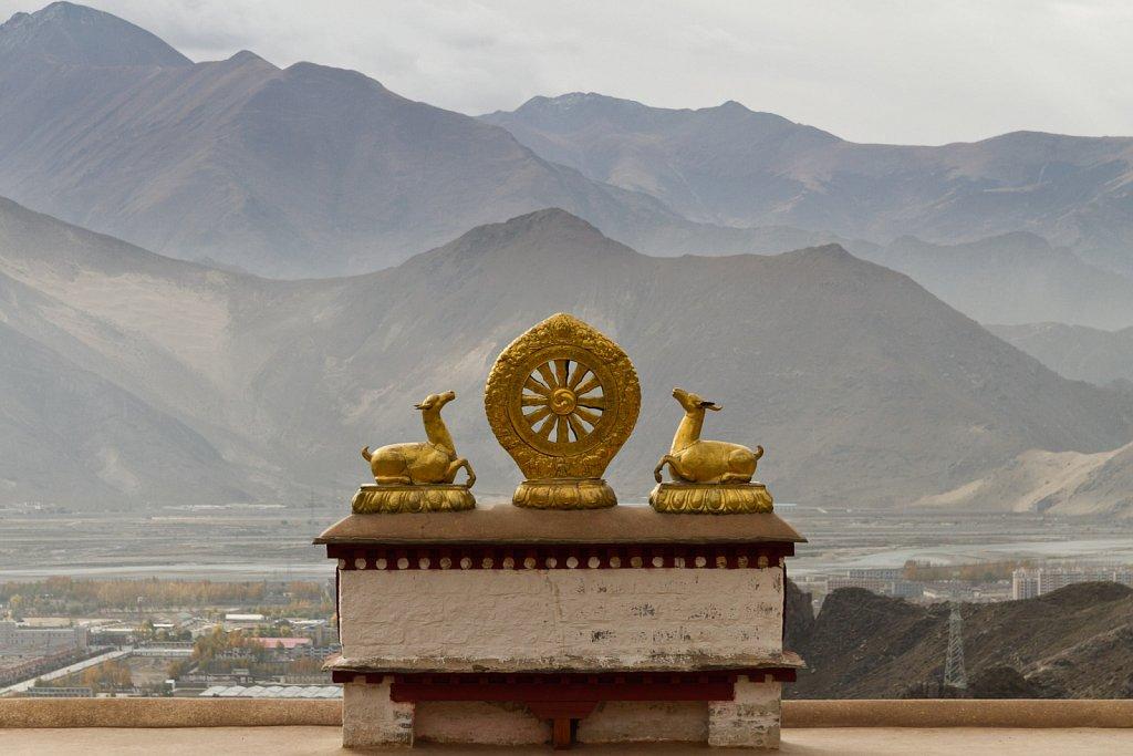 Eternal Wheel, Drepung Monastery