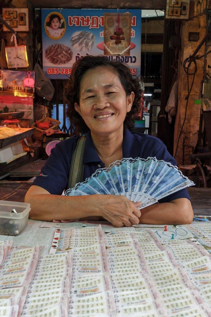 lottery woman