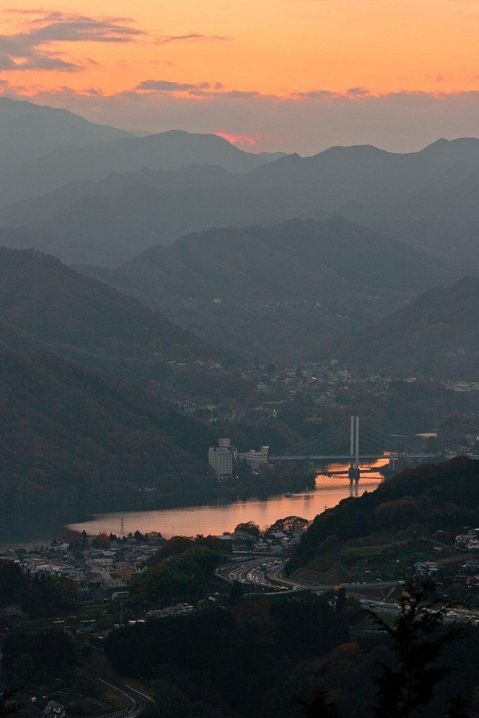 Sagami river valley