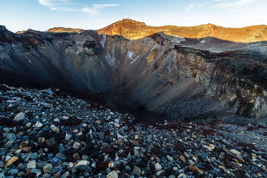 Mt. Fuji crater rim