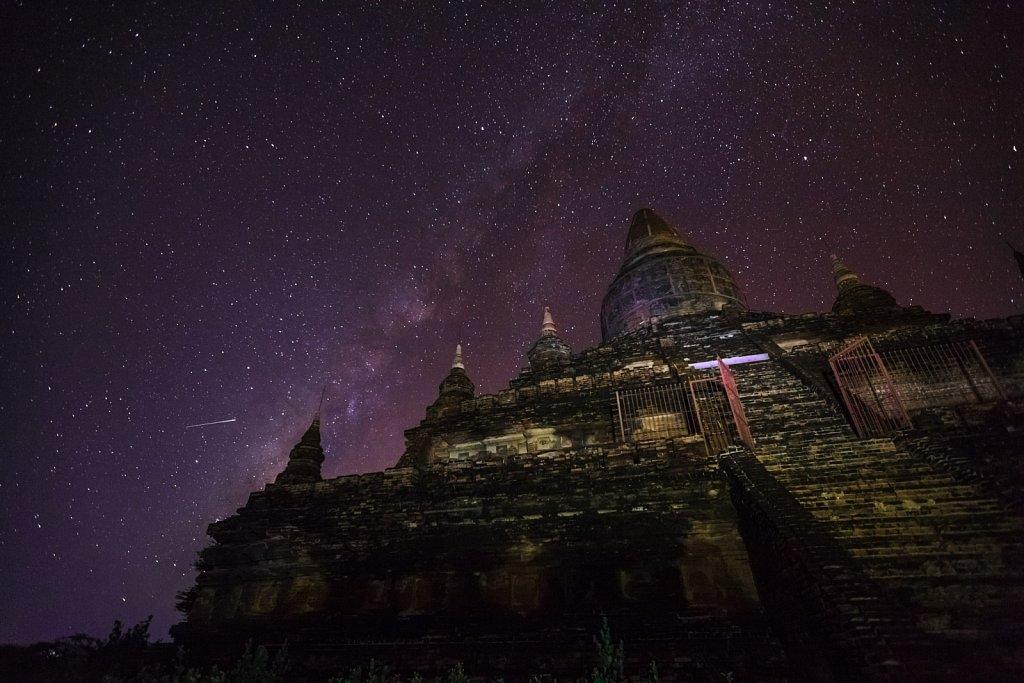 Milky Way Over Buledi Pagoda