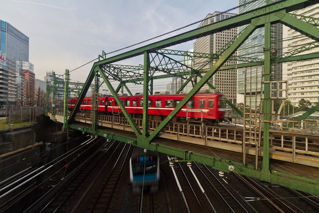 Shinagawa Train Lines