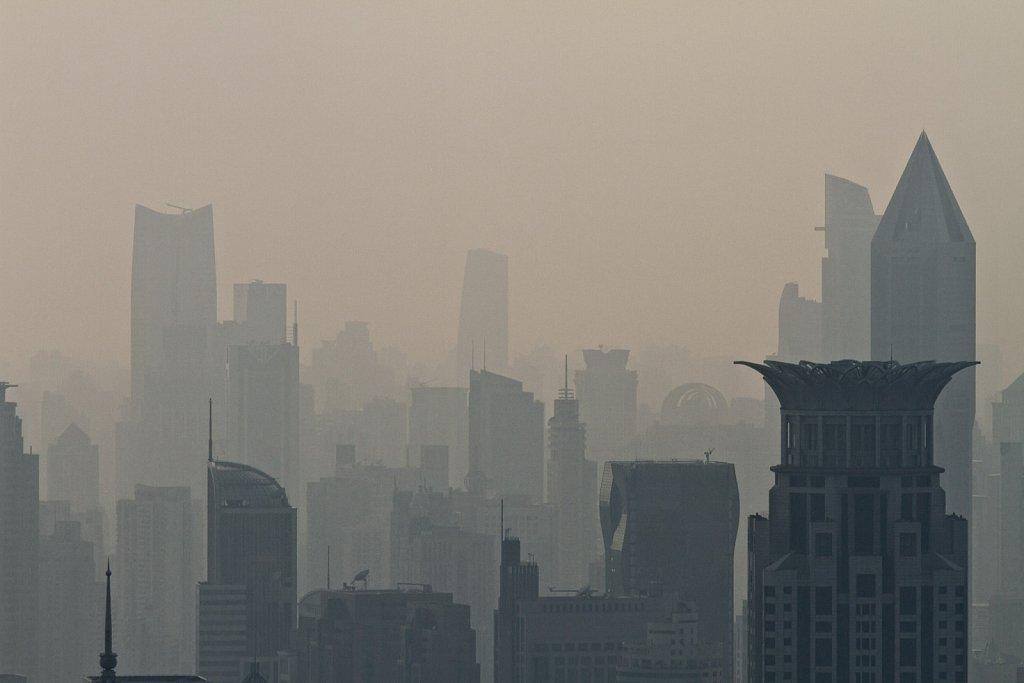 downtown smog