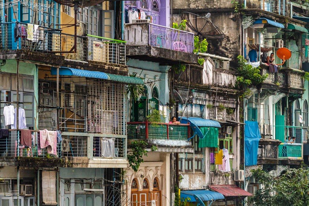 Yangon Façades