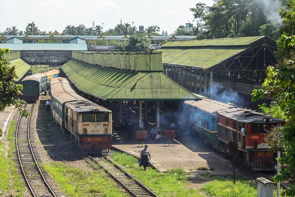 Yangon Central Station