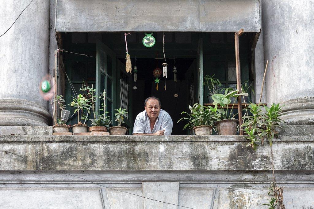 Resident of Bank Street