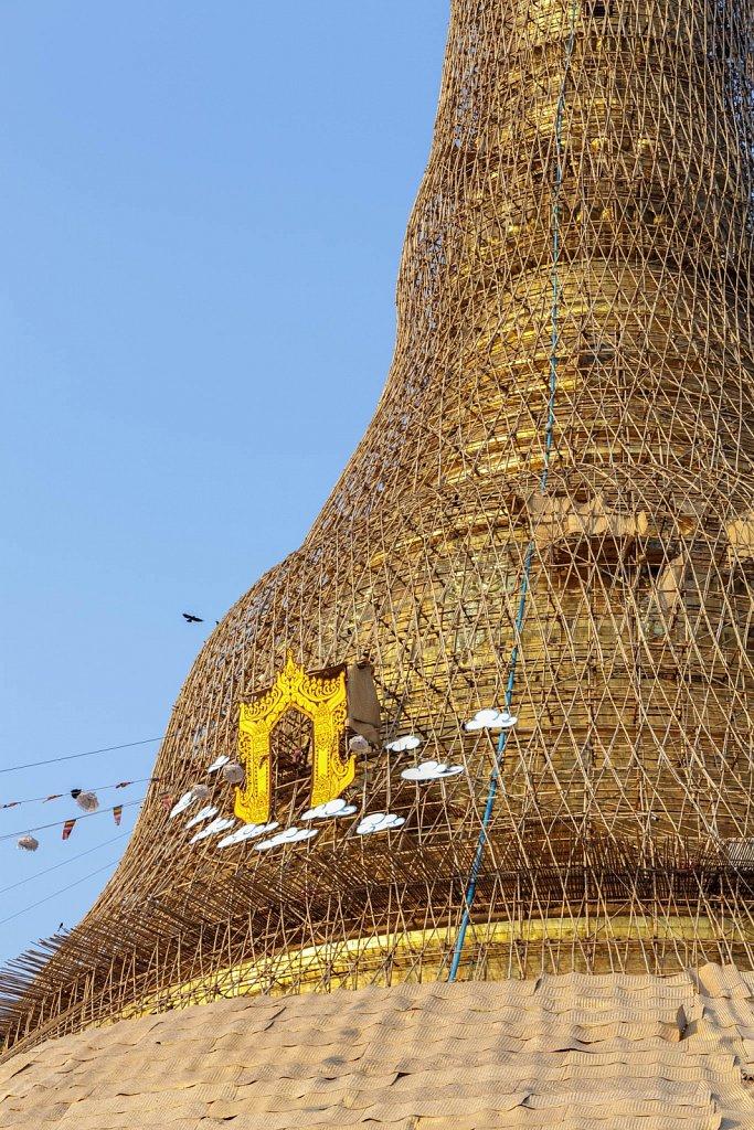 Shwedagon Pagoda Renovation