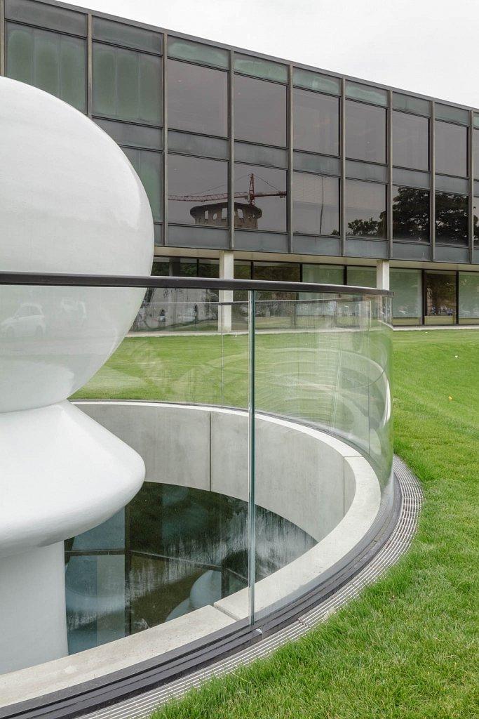 Art installation exterior